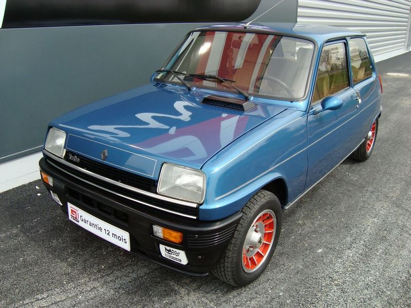 renault 5 alpine turbo gt spirit. Black Bedroom Furniture Sets. Home Design Ideas