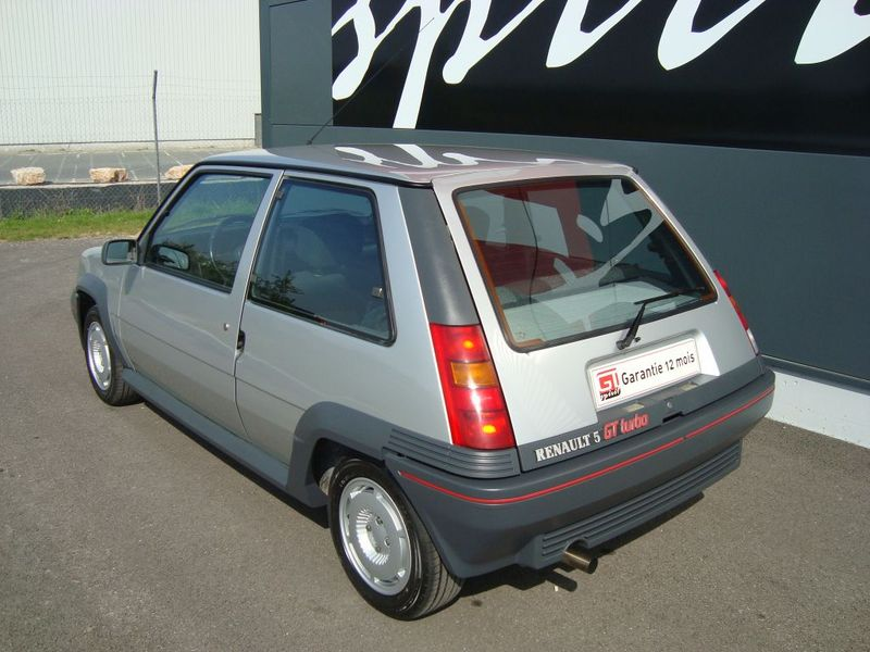 renault  super5 gt turbo phase 1