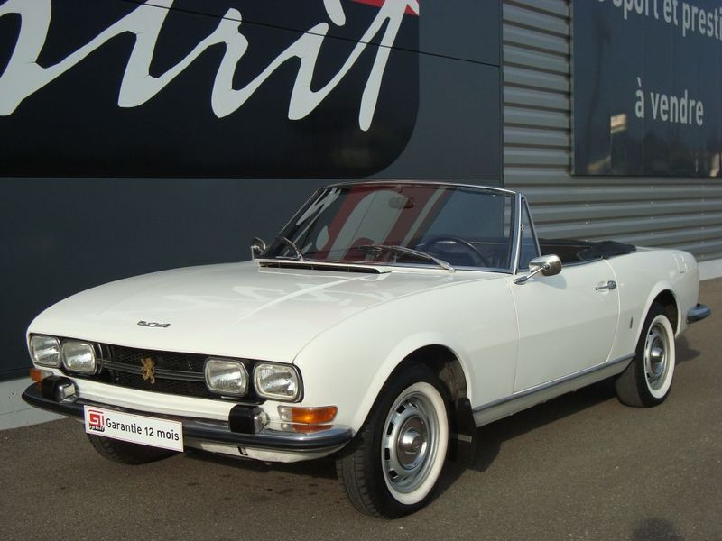 peugeot  504 cabriolet injection