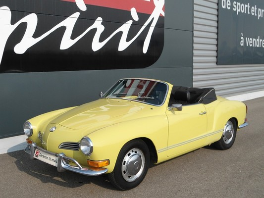 voiture de collection VOLKSWAGEN - Karmann Ghia Cabriolet