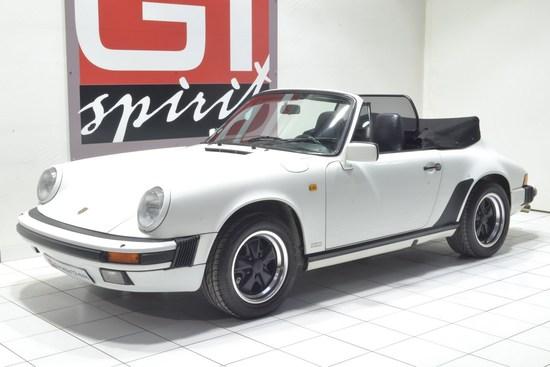 PORSCHE - 911 3.2L Cabriolet