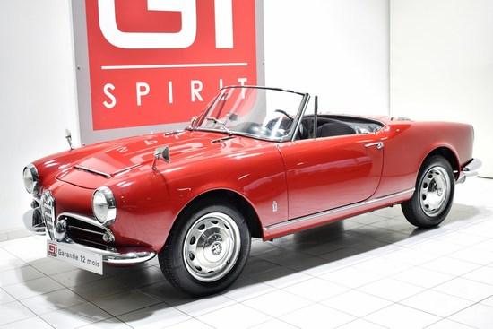 1600 Giulia Spider