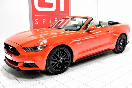 FORD - Mustang GT 5.0 Cabriolet