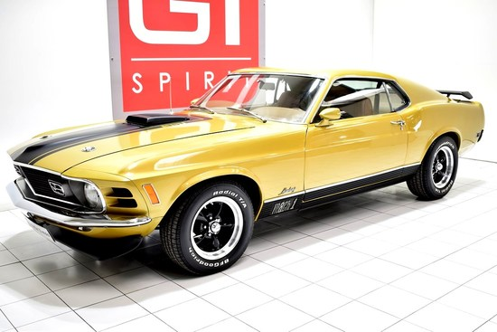FORD - Mustang Mach 1