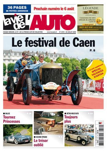 La Vie de  l'Auto N° 1372 de Juillet 2009