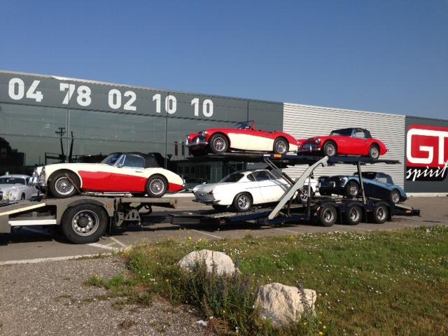 Livraison d'automobiles - GT Spirit